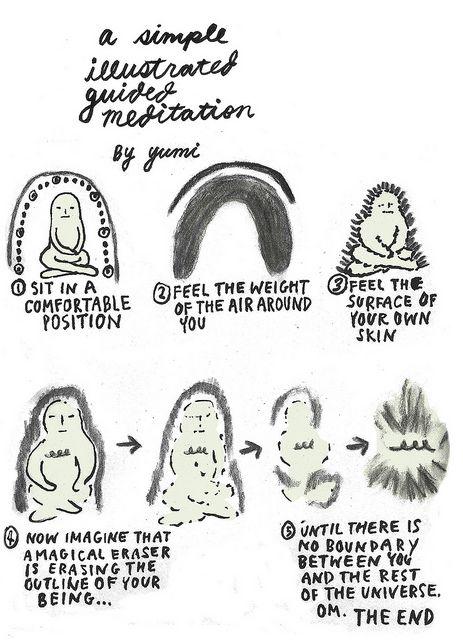 Una semplice meditazione illustrata.