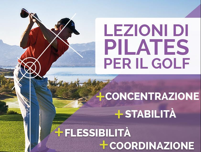 pilates per il golf